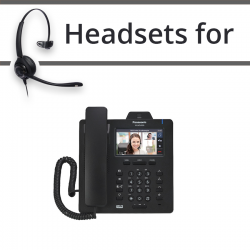 Headsets for Panasonic KX-HDV430