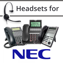 Headsets For NEC