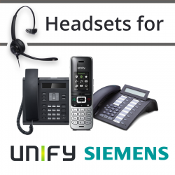 Headsets For Unify/Siemens