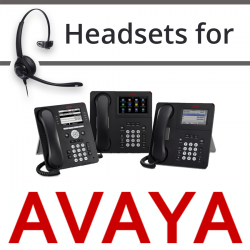 Headsets for Avaya