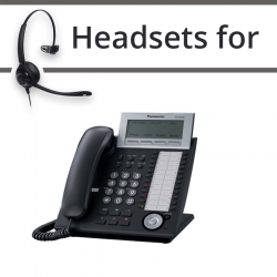 Headsets for Panasonic KX-DT346