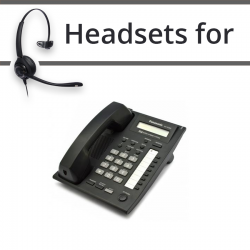 Headsets for Panasonic KX-NT265