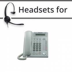 Headsets for Panasonic KX-NT321