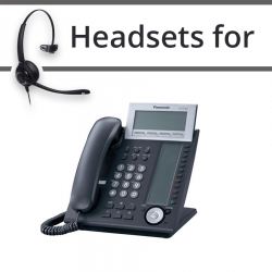 Headsets for Panasonic KX-NT366