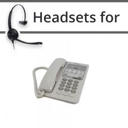 Headsets for Panasonic KX-T7310E
