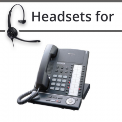 Headsets for Panasonic KX-T7625