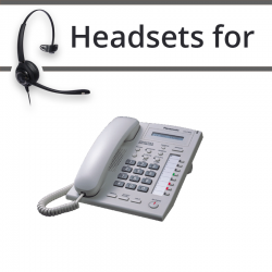 Headsets for Panasonic KX-T7665
