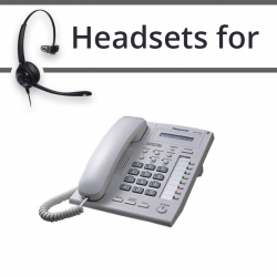 Headsets for Panasonic KX-T7668