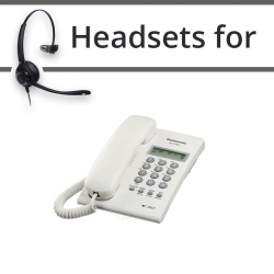 Headsets for Panasonic KX-T7703