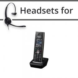 Headsets for Panasonic KX-TPA60