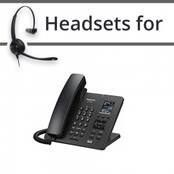 Headsets for Panasonic KX-TPA65