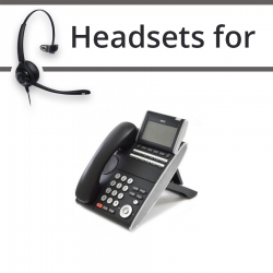 Headsets for NEC SV8100 DT300