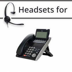 Headsets for NEC SV8100 DT330