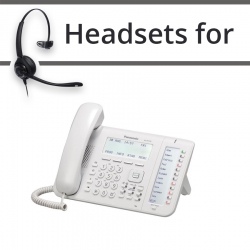 Headsets for Panasonic KX-NT556
