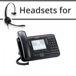Headsets for Panasonic KX-NT560