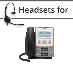 Headsets for Nortel 1120E