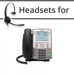 Headsets for Nortel 1140e