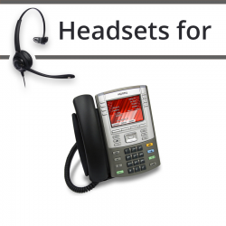 Headsets for Nortel 1165e