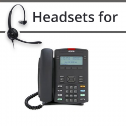 Headsets for Nortel 1220e