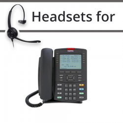 Headsets for Nortel 1230