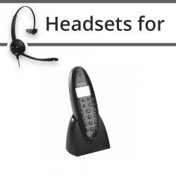 Headsets for Nortel 4135 DECT