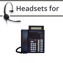 Headsets for Nortel M2008