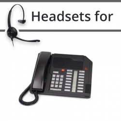 Headsets for Nortel M2216D