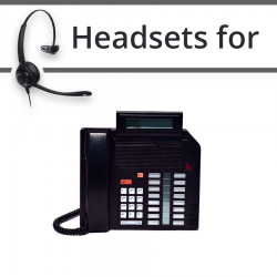 Headsets for Nortel M2616D