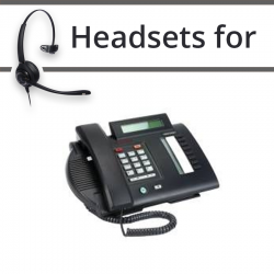 Headsets for Nortel M3310