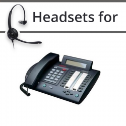 Headsets for Nortel M3820