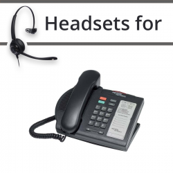 Headsets for Nortel M3901