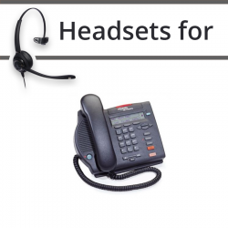 Headsets for Nortel M3902