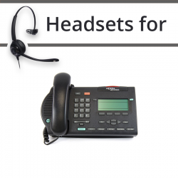 Headsets for Nortel M3903