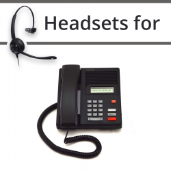 Headsets for Nortel M7100