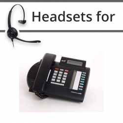 Headsets for Nortel M7208N