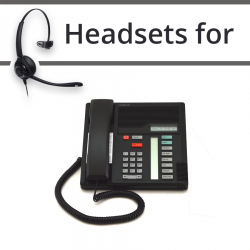 Headsets for Nortel M7208