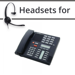 Headsets for Nortel M7310