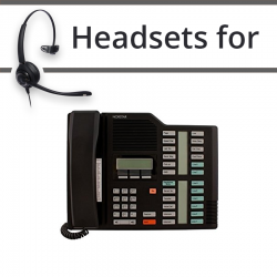 Headsets for Nortel M7324