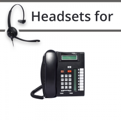 Headsets for Nortel T7208