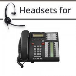 Headsets for Nortel T7316