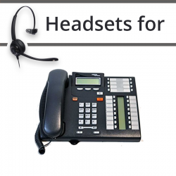 Headsets for Nortel T7316e