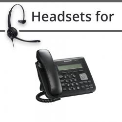 Headsets for Panasonic KX-UT113X