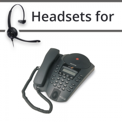 Headsets for Polycom SE225