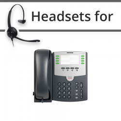 Headsets for Cisco SPA501G