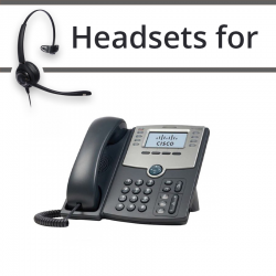 Headsets for Cisco SPA508G