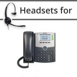 Headsets for Cisco SPA524G