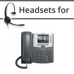Headsets for Cisco SPA525G