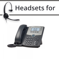 Headsets for Cisco SPA921