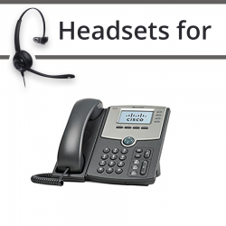 Headsets for Cisco SPA922