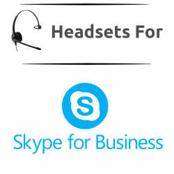 Headsets for Skype for Business